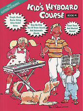 Kid's Keyboard Course Book 1; Various, Electronic Keyboard, FMW - HLE00102133