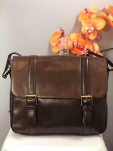 FOSSIL Men's Estate East West City Crossbody Messenger Bag #MBG9223
