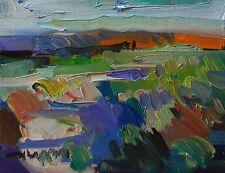 JOSE TRUJILLO MODERN ABSTRACT ORIGINAL Oil Painting FAUVISM Desert Landscape