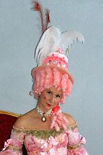 1800s Marie Antoinette Wig OOAK Rococo Baroque LOJ Cake Hat Halloween Cosplay