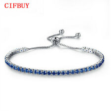 Link Crystal For Women Bangles Chain Bracelet Tennis Bracelet Jewelry Zirconia