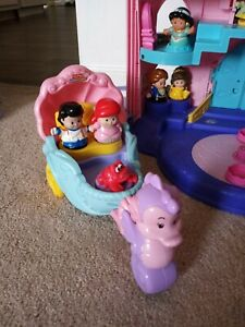 Disney Little Mermaid Fisher-Price Little People Carriage