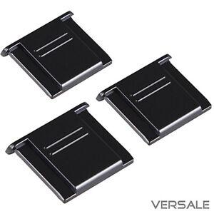 3 x Kamera Blitzschuhabdeckung Blitzschuh abdeckung Spiegelreflexkamera DIN ISO