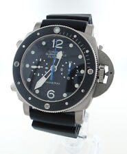 PANERAI PAM 615 Luminor Submersible 1950 3 Days Chrono Flyback Titanium