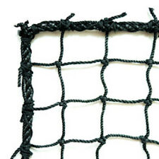 Baseball, Softball  Barrier Net,Knotted Nylon , #60 Black, 10' X 20' NEW!