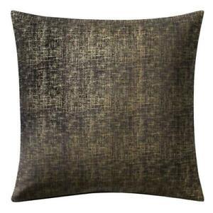 Highline Bedding Co Valencia Black Gold Euro Pillow Sham Set Of Two