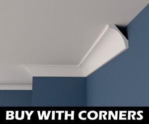 XPS Polystyrene COVING BFA6 Lightweight Ceiling Wall Best Design 6cm x 6cm x 2m