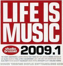 LIFE IS MUSIC 2009.1 (2 CD) STUDIO BRUSSEL Hickey Underworld, Coldplay, dEUS....