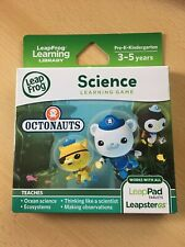 New Leap Frog Leapster Leap Pad Explorer Game Disney Octonauts 3-5 Yrs