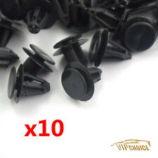 10X Black Trunk Panel Clips Fastener for Benz W124 R129 #0009905792