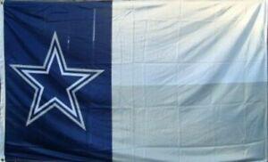 Cowboys Star FLAG 3X5 Dallas Banner American Football Texas 3 x 5 Flag 3x5