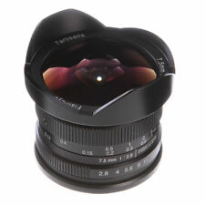7artisans 7.5mm F/2.8 Manual Focus Wide Angle Fisheye Lens for Canon EOS EF-M