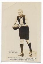 1923 / 24 Pals Periodical Dave McNAMARA St. Kilda /: