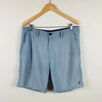 Vans Mens Shorts Size 34 Deck Sliders Grey Water Friendly Sports Leisure