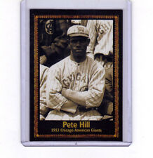 Pete Hill, outfielder Chicago American Giants Negro League serial #/400
