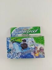 FUJIFILM QUICKSNAP WATERPROOF DISPOSABLE CAMERA 27 EXPOSURES EXP 05/21