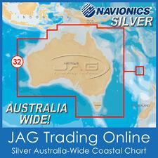 NAVIONICS SILVER AUSTRALIA-WIDE CARD - GPS CHARTPLOTTER MAP/CHART Suits Lowrance