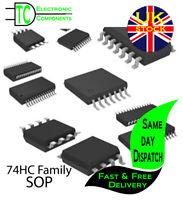 74HC Series Logic Chips IC's SOP Various types available **UK Seller** Free P&P
