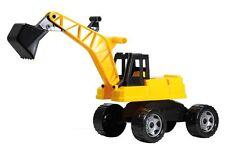 Lena 02017 Starke Riesen Bagger, schwarz/gelb Sandspielzeug