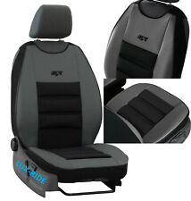 FRONT SEAT COVER MAT ARTIFICIAL LEATHER & FABRIC FITS FORD FIESTA Mk7 Mk8