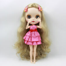 """Takara 12"""" Neo Blythe Long Hair Joint body Nude Doll from Factory TBY212"""