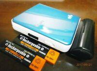 Sony MD Walkman MZ-E630 Minidisc Player MDLP BLUE Tested Working Good zz63