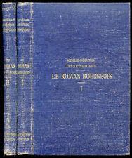 Antoine Furetière : LE ROMAN BOURGEOIS -Collection Jannet-Picard, 2 volumes 1878