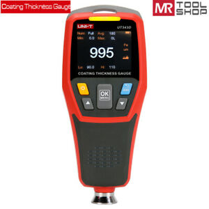 UNI-T UT343D Digital Car Coating Thickness Gauge Painting tester  0-1250um F/N P