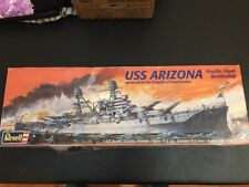 REVELL USS ARIZONA MODELS KIT / 1/426 SCALE / PEARL HARBOR MEMORIAL / NEW