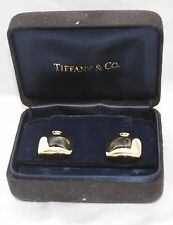 MAGNIFICENT BRAND NEW TIFFANY & CO. 18K GOLD EARRINGS WITH BOX