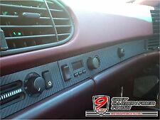 9 Design Brand Carbon Fiber Finish Dash Strip Cover : fits Porsche 944 968