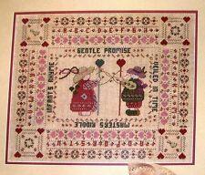 Sampler CHILDREN Cross Stitch Leaflet
