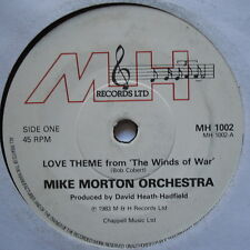 """MIKE MORTON ORCHESTRA - Love Theme From The Winds Of War - Ex 7"""" Single MH 1002"""