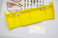 85881 Alettone HIMOTO 1/8 Giallo/TAIL WING HIMOTO 1/8 YELLOW