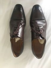 Gucci Men's Brown Leather Brogues Shoes Size 9 / 43