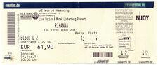 Rihanna - Altes Konzert-Ticket - The Loud Tour 2011 - Hamburg vom 04.12.2011