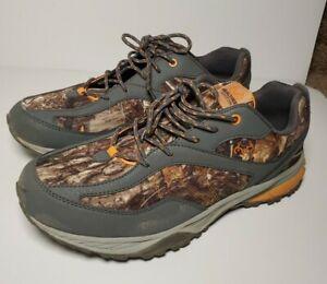 Realtree Camo Shoes Orange Mens 13 Hunting Outdoor