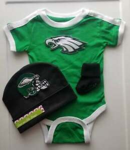Eagles newborn/baby clothes Eagles football outfit Philly Eagles baby gift