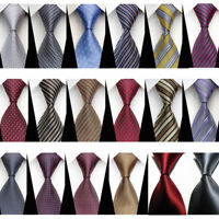 cravate homme-Hommes Cravate-habillé-affaires-Mariage-Classique-Chemise-MODE