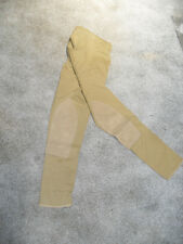 NEW CHILDS SIZE 8 TAN EURO STYLING BREECH WITH CLARINO KNEE BY COMFORT  RIDER