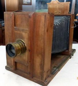 Plattenkamera Holz