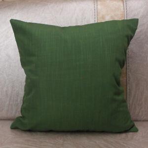 CURCYA Plaid Throw Pillow Covers Mediterranean Nordic Sofa Check Cushion Cases