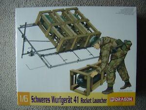Dragon 1/6 Schweres Wurfgeraet 41 Rockets and Launcher