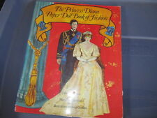 Princess Diana paper doll set Book of Fashion partially uncut