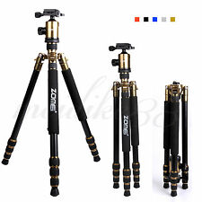 Zomei Z888 Portable Quick Release Travel Tripod Monopod+BallHead for Dslr Camera