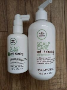 Tee Tree Paul Mitchell scalp care anti- thinning conditioner & tonic new