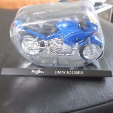 BMW R1100RS Maisto Motorbike Motorcycle Model 1:18 Scale w Stand