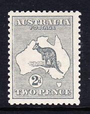 Australia 1913-14 2d Gris SG 3 como nuevo.