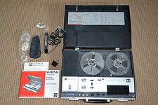 Vintage Portable National 4-Track Reel To Reel Tape Player/Recorder RQ-194S