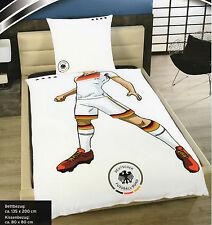 DFB Fußball Bettwäsche Deutschland - Spieler - Mikrofaser - 135 x 200 cm
